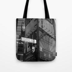 Broadway & W42nd St Tote Bag