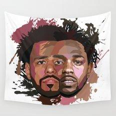 Kendrick Lamar + J Cole Wall Tapestry