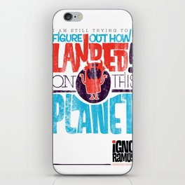 Figure It Out iPhone Skin