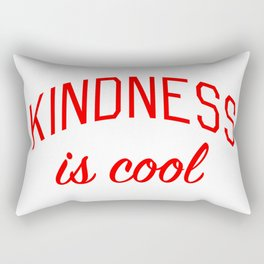 Kindness is Cool Rectangular Pillow