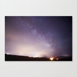 Oregon Stars Canvas Print