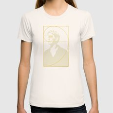 Stay Gold, Ponyboy LARGE Womens Fitted Tee Natural