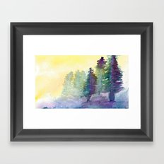 In The Pines Framed Art Print