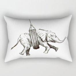 Snug Elephant Rectangular Pillow