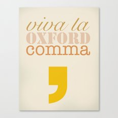 Oxford Canvas Print