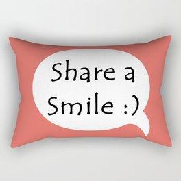 Smile C Rectangular Pillow