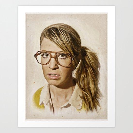 i.am.nerd. : Lizzy Art Print