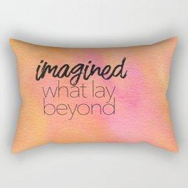 Beyond the Lines 29 Rectangular Pillow