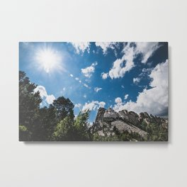 Rushmore on a Sunny Day Metal Print
