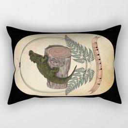 Kiwiana banner Series - Tuatara Rectangular Pillow