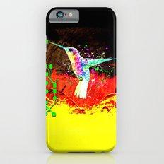 digital hummingbird & (germany Flag) iPhone 6 Slim Case