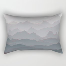 Mountains of Madness I Rectangular Pillow