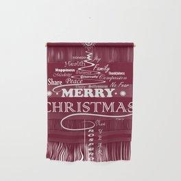 The Wishing Christmas Tree Wall Hanging