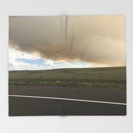 I-25 Storm Throw Blanket