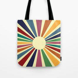 Sun Retro Art II Tote Bag