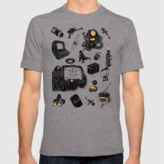 Artifacts: Fallout Tri-Grey LARGE Mens Fitted Tee