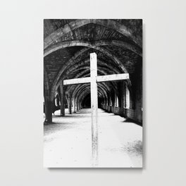 Cross my heart Metal Print