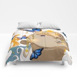 Butterflies Amazon Comforters