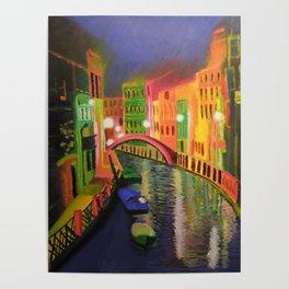 Siskins Venice a la Moi Poster