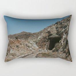 Mysterious Train Tunnel Rectangular Pillow