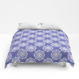 Restaurant Cutlery Blue Comforters