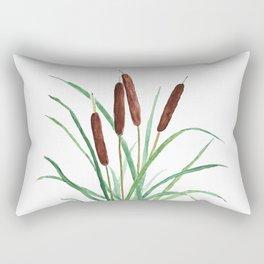 cattails plant Rectangular Pillow
