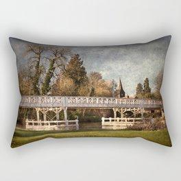 Whitchurch on Thames Toll Bridge Rectangular Pillow