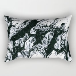 Marble -- Abstract Painting Rectangular Pillow
