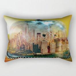 Manhattan Under the Dome Rectangular Pillow