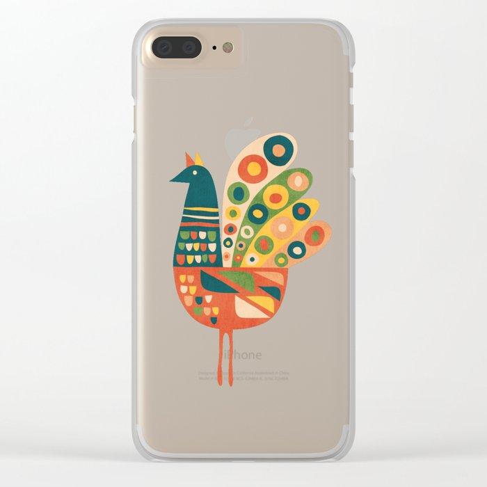 Century Hen Clear iPhone Case