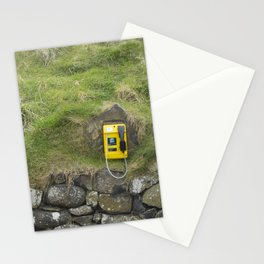Phone in the Mountain Side Stationery Cards