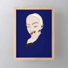 Feels I Framed Mini Art Print