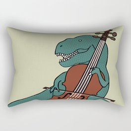 T-Rex Double Bass Rectangular Pillow