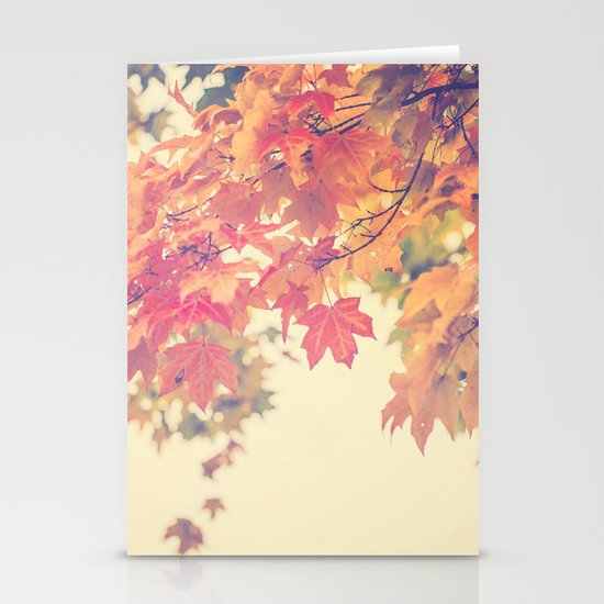 Hello Autumn  Stationery Cards