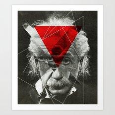 Albert E Mix 3c Art Print