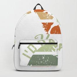 I'd Rather Be Hunting Retro Hunter Vintage Deer Backpack