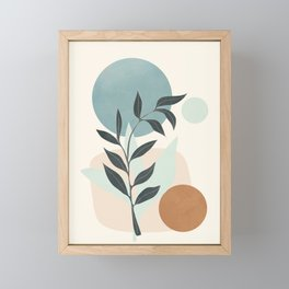 Azzurro Shapes No.53 Framed Mini Art Print