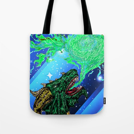 green dragon fire artist Tote Bag