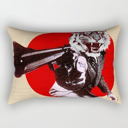GUN OF THE TIGER Rectangular Pillow