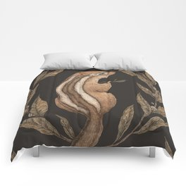 The Chipmunk and Bay Laurel Comforters