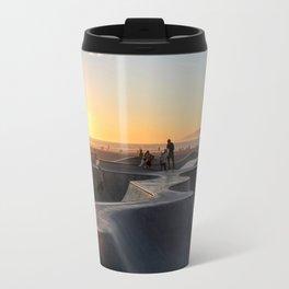 Sunset Skate Travel Mug