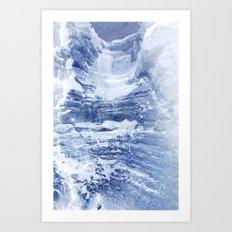 Ice Scape 2 Art Print