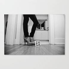 LA Lady Canvas Print