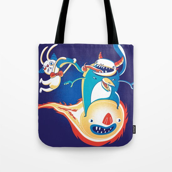 Monsteroid! Tote Bag