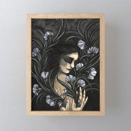 Flowering self Framed Mini Art Print