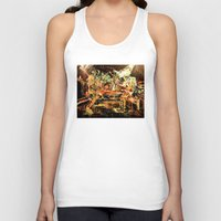 nirvana Tank Tops featuring Nirvana by 2700art
