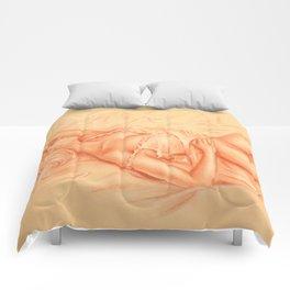 Sleeping Venus - Erotic lying Woman Comforters
