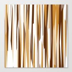 Golden Wood Grain Canvas Print