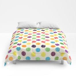Lovely Dots Pattern II Comforters