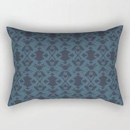 Brushstroke Trellis Rectangular Pillow